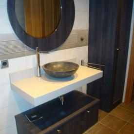 Muebles de baño en formica
