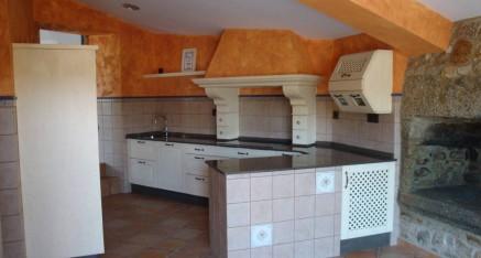 Cocina rústica Epoca color Arena patinada
