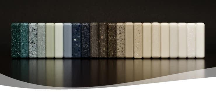 Materiales para encimera: Hi-Macs, la piedra acrílica | Mueblescovi.es